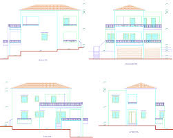 house elevation plans floor plan and elevation of modern house kerala home design indian 6