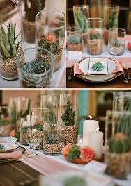 Coral Wedding Centerpiece Ideas by 25 Cactus Wedding Ideas You U0027ll Love Deer Pearl Flowers