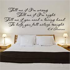 wall art decals song lyrics color the walls of your house wall art decals song lyrics ed sheeran cold coffee song lyrics decal vinyl wall sticker