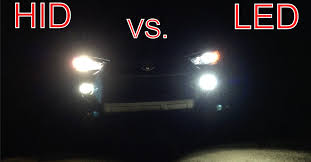 brightest hid lights for cars hid vs led comparison and preference youtube