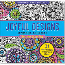36 coloring books stress punched clocks