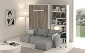 canapé escamotable lit escamotable avec canape integre lit escamotable horizontal avec