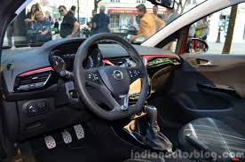 opel door 2015 opel corsa 3 door interior at the 2014 paris motor show
