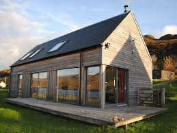 dornie lodges modern glass fronted holiday homes with fantastic