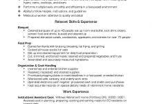 Food Prep Resume Example by All About Resume Example For Your Jobs Search U2013 Resume Example