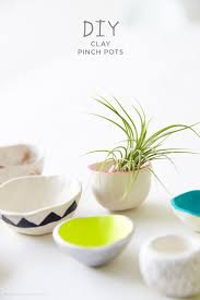 Trendy Desk Accessories by Making Diy Pinch Pots With Crayola Air Dry Clay Clay Pinch Pots