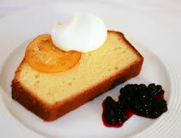 tish boyle sweet dreams lemon pound cake with wild blueberry sauce