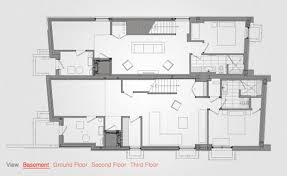 canadian house floor plans architect luc bouliane u0027s relmar house in toronto wallpaper
