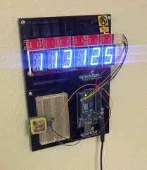 alphanumeric gps wall clock learn sparkfun com