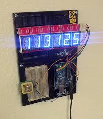 Neat Clocks by Alphanumeric Gps Wall Clock Learn Sparkfun Com