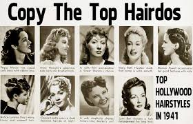 1940s Hairstyle U2013 Copy The Top Hairdos Of 1941 Glamourdaze