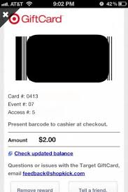 target earning on black friday use shopkick on black friday and earn gift cards