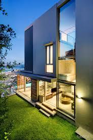 city beach house in perth australia bjyapu garden glass walls