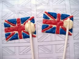 Beitish Flag Bird On A Cake British Flag Union Jack Cupcake Toppers