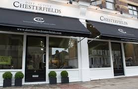 Chesterfield Sofa Showroom Distinctive Chesterfields Showroom The Chesterfield Sofa