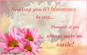 thoughts of you free flower week ecards greeting cards 123