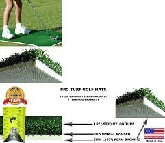 nets cages and mats 50876 backyard golf mat 32 x 60 pro