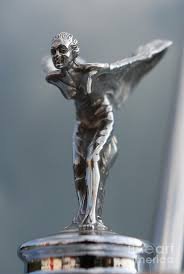 the spirit of ecstasy ornament ii rolls royce silver cloud