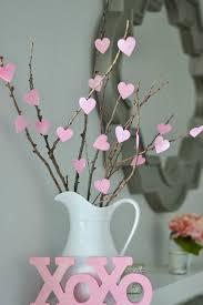 Home Decor Tree Diy Home Decoration Ideas For Valentine U0027s Day Heart Tree Heart