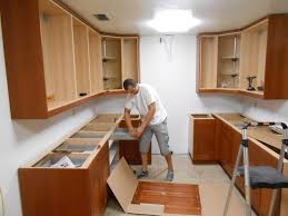 How To Install Wall Kitchen Cabinets Kitchen Installation Of Kitchen Cabinets On Kitchen Installing