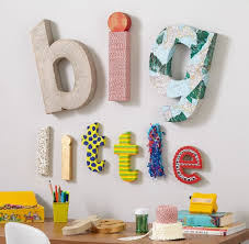 ritzy wall letters birthday party nursery room heart to heart