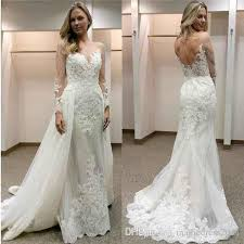 cheap designer wedding dresses 2018 new designer white wedding dresses with detachable