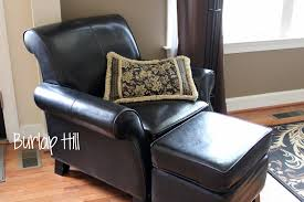 Oversized Swivel Chairs For Living Room by Furniture Leather Chair And Ottoman Oversized Leather Chair And