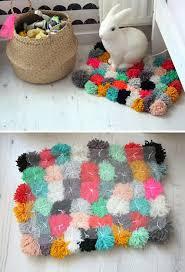 Pom Pom Rug Instructions Diy Mommo Design Diy Pinterest Pom Pom Rug Diy Ideas And