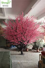 top sale fiberglass artificial tree artificial blossom tree