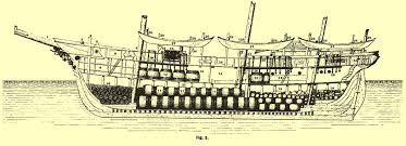 deck plan of whaling bark alice knowles of new bedford mass