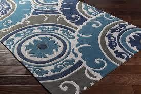 Teal Living Room Rug Surya Cosmopolitan Cos 9270 Charcoal Grey Navy Teal Area Rug