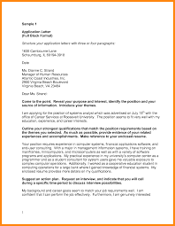 Semi Block Format Business Letter by 9 Full Block Application Letter Musicre Sumed