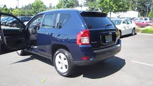 2017 jeep compass limited 4k wallpapers 2012 jeep compass true blue pearl stock b8698a walk around