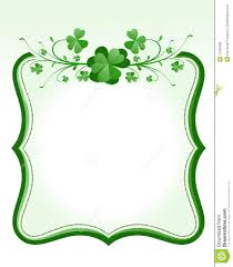 st patrick s day frame royalty free stock photos image 13184388