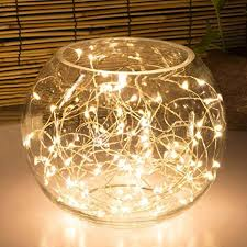 Fairy Lights For Bedroom - 20led fairy light battery operated oak leaf led lights with timer