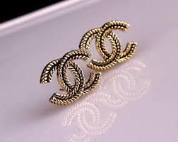 cc earrings cc earrings etsy