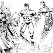 coloring pages of the avengers the awesome avengers picture coloring page the awesome avengers