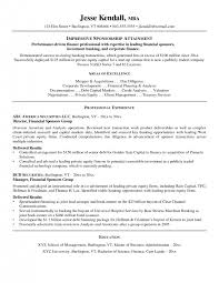 Mergers And Inquisitions Resume Template Cover Letter Investment Banker Resume Template Investment Banking