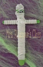 Mummy Crafts For Kids - craft stick mummies and ninjas recipe craft sticks and ninjas