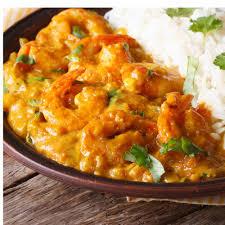 cuisiner des crevettes recette curry de grosses crevettes aux mirabelles