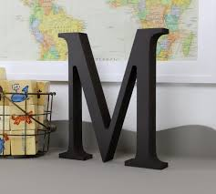Letter Decoration Ideas by The Top Letter M Home Decor