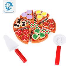 kinder spiel k che arrial kinder spielzeug pizza essen spiel montessori täuschen