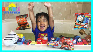 Disney Cars Bathroom Disney Cars And Thomas And Friend Surprise Toys Opening Youtube