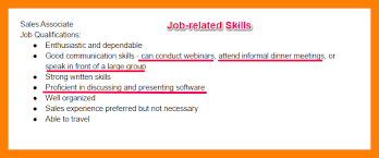 Software Skills For Resume 7 Examples Of Skills For Resume Doctors Signature