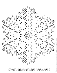 snowflake symbol coloring u0026 coloring pages