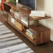 crate and barrel media cabinet austin 62 media console contemporary living room chicago