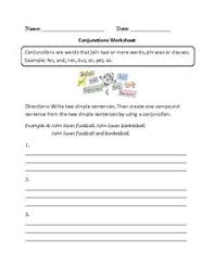 conjunctions list common coordinating and but so or common