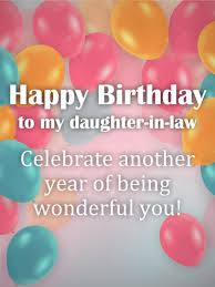 birthday cards for daughter in law birthday u0026 greeting cards by