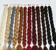 Types Of Braiding Hair Extensions by Aliexpress Com Buy 165g Synthetic Braiding Hair Extensions