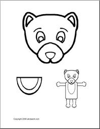 animal weasel paper bag puppet i abcteach com abcteach